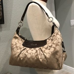 Authentic Signature Coach Handbag